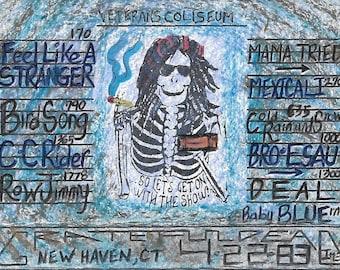 0013  Veterans Coliseum, New Haven, CT ** 4/22/83