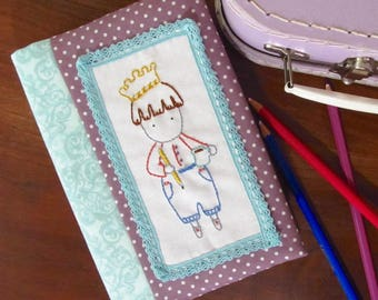 Ready to Rule the Day Embroidery Pattern PLUS Journal Cover Tutorial