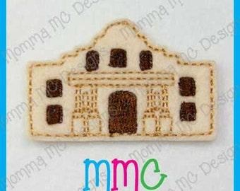 Alamo Felt Feltie Embroidery Design