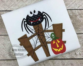 Spider Fence applique