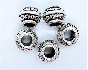5 Beads large hole