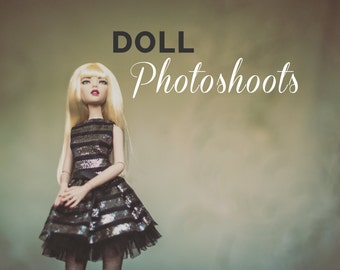 Doll Photoshoots - Your doll professionally photographed by a doll photographer. Doll photos   photo shoot   photo session   blythe dolls