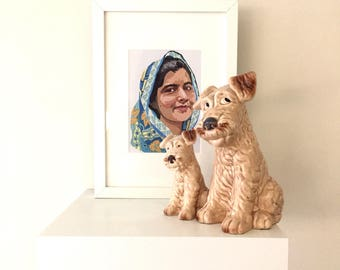 Malala - Archival quality A5 print