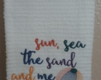 Sun, Sea, The Sand And Me
