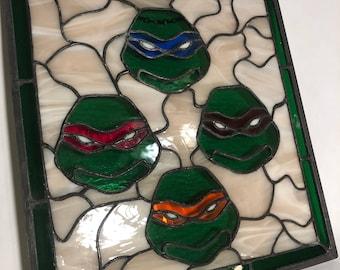 The 4 ninja turtles