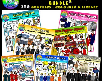 Careers Clipart (Community Helpers)