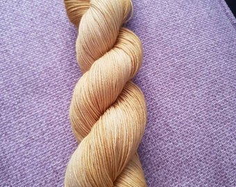 Harvest festival /hand dyed 4ply yarn, 75/25 Superwash merino, nylon