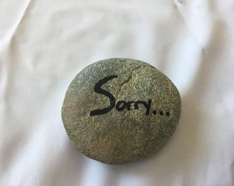 I'm sorry -  Gift a Rock! The perfect apology gift!