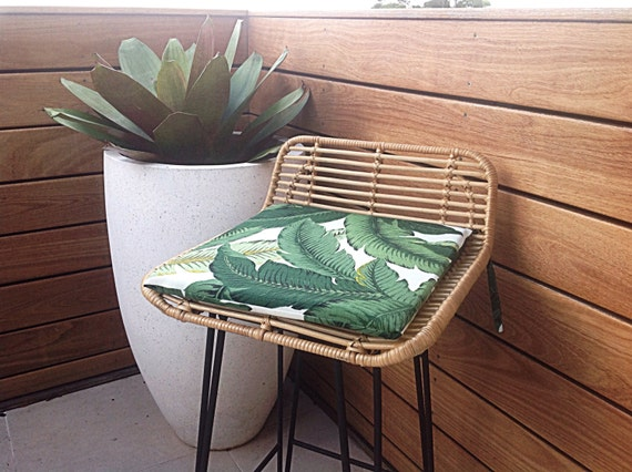 Chair Pads Palm Leaf Cushions Banana Leaf Outdoor Cushions