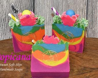 Tropicana Soap Bars