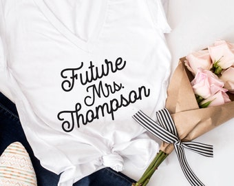 Future Mrs T-Shirt. Mrs Tee. Wifey. Wifey t-shirt. Honeymoon tee. bridal Shower gift, Bride to be Gift. Future Mrs. tshirt, bride tshirt