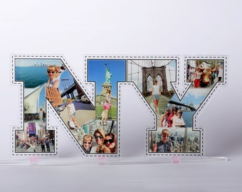 Personalized Acrylic 3D Sign, Letters/Numbers/Symbols/Words With Yours Photos, Custom