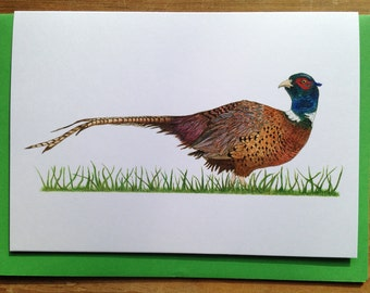 Card featuring 'Phillip the Pheasant