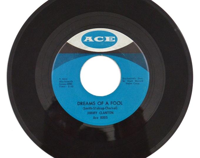 Vintage 60s Jimmy Clanton Dreams of a Fool Pop Rock 45 RPM Single Record Vinyl