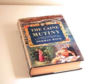 1951 The Caine Mutiny by Herman Wouk, Sears Book Club Edition, Hardback, Classic Fiction