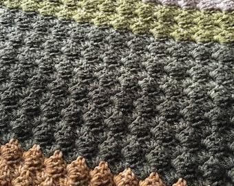 Crochet Blanket (Poppy Fields)