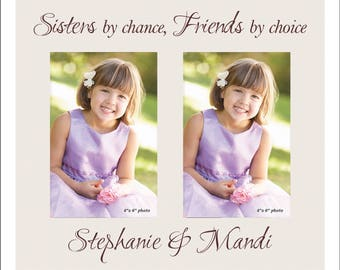 Sister Frame, Double 4 x 6 Frame, Great Gift for your Sister