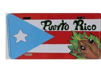 Puerto Rican License Plates/TablillaBoricua/Ideal for your Car,Truck, Suv, etc