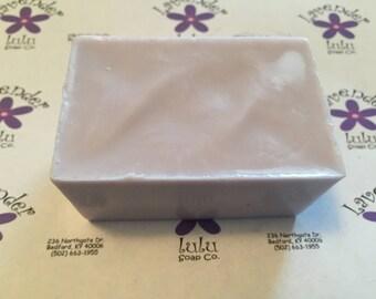 Juniper goats milk soap