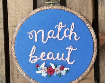 Natch Beaut Embroidery