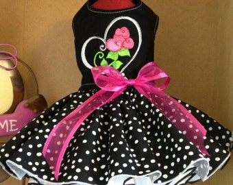 Sweetheart Roses Dog Dress
