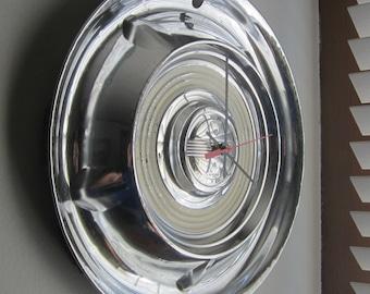 1958 Oldsmobile Hubcap Clock no.1961