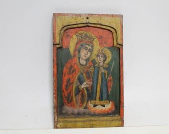 Antique Old Wooden German Bilz Naturophaty The Natural Way of Healing Book 19century