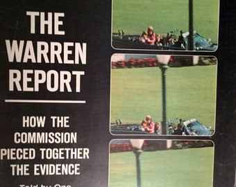 Vintage Life Magazine, October 2, 1964 The Warren Report, How the Commission Pieced Together the Evidence.