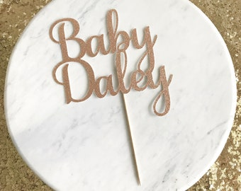 Baby shower cake topper, baby cake topper, baby shower decor