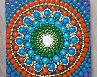 Happy mandala,joy love and peace