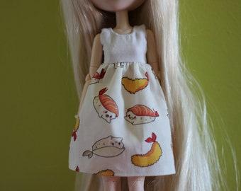 Sushi dress for pullip doll