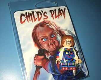 CHUCKY Child's Play Custom Horror Movie Minifigure