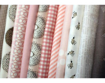 Lullaby Fat Quarter Fabric Bundle of 12