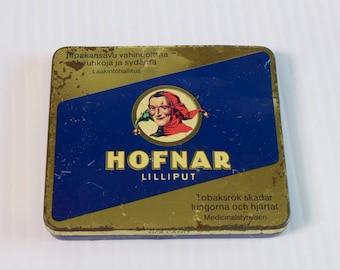 Vintage Hofnar Lilliput Cigar Tin Box - Joker Cigar Box