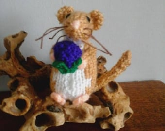 Knitted Dormouse