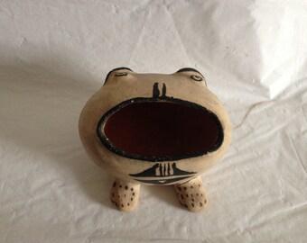Cochiti Pueblo Pottery Frog Native American Folk Art New Mexico