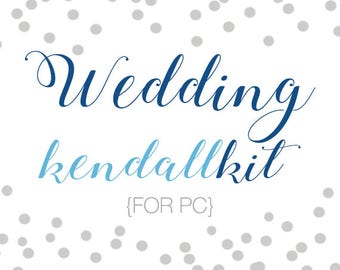 Wedding Kendall Kit - for PC