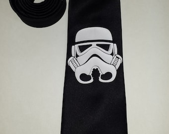 Star Wars Stormtrooper Mens NeckTie