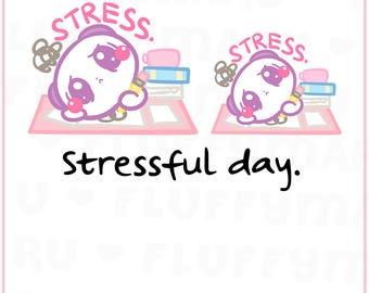 Stressed Panda Mimi    Planner Stickers, Cute Stickers for Erin Condren (ECLP), Filofax, Kikki K, Etc.    MTP33