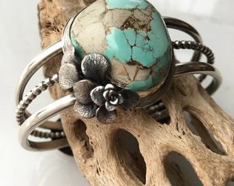The Earth Child Turquoise Cuff