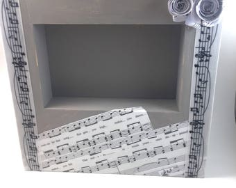 Valentine day gift-Gift for girlfriend- gift for boyfriend-Sheetmusic frame- valentine love song-I wanna be that song- gift for wife-