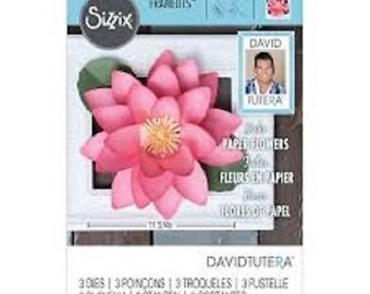 Sizzix Large Lotus Framelits By David Tutera 662413 Scrapbooking & Paper Craft Supplies