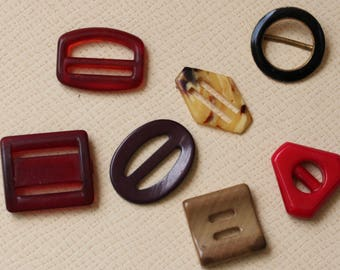 Small Buckles of Various Materials