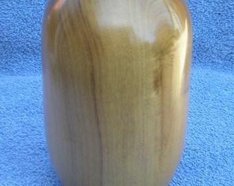 Weed pot, Oregon myrtlewood