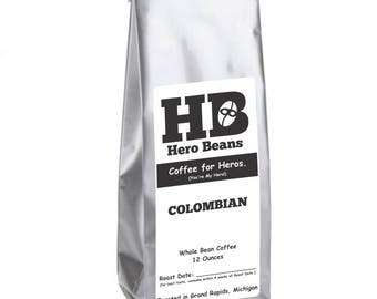 Nariño Colombian Whole Bean Roasted Coffee