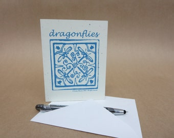 Dragonflies - Note Cards (set of 6 with verse inside) © 2000. All rights reserved.