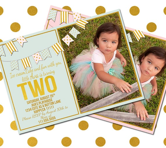 2 year old birthday invitation two year old birthday like this item filmwisefo Gallery