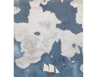Sea Wall print