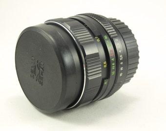 Helios 44M-4 Lens for Nikon F mount INFINITY IS! 2/58 mm f/2 M42 58mm Russian Soviet USSR Photo Portrait Bokeh lens 44-2 D50 D40x D60 D5000