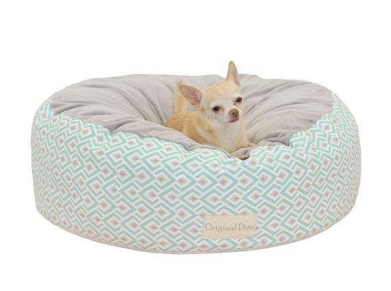 bleu gris pouf pour animaux de compagnie animaux de. Black Bedroom Furniture Sets. Home Design Ideas
